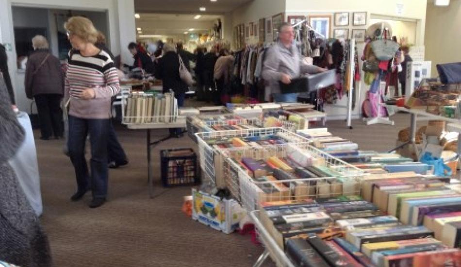 Market Day Book Stall